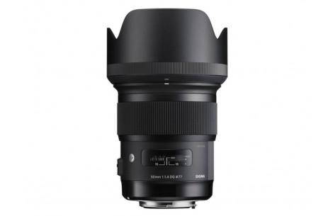Sigma AF 50mm F1,4 DG HSM -A- für Canon