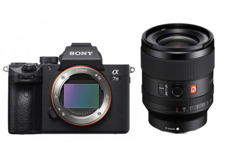 Sony Alpha ILCE-7 III + SEL FE 35/1.4 GM