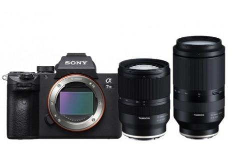 Sony Alpha ILCE-7 III Kit + Tamron AF 17-28/2,8 RXD  und Tamron 70-180/2,8 VXD