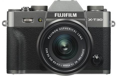 FUJIFILM X-T30 + XC15-45mm F3.5-5.6 OIS PZ anthrazit