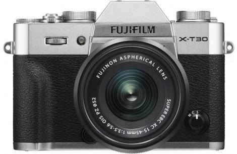 FUJIFILM X-T30 + XC15-45mm F3.5-5.6 OIS PZ silber