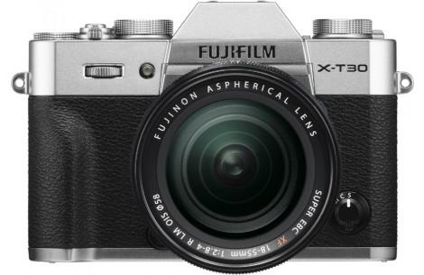 FUJIFILM X-T30 + XF18-55mm F2.8-4 R LM OIS silber