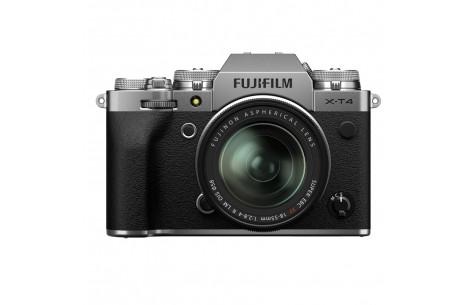 Fujifilm X-T4 Kit + XF18-55mm F2.8-4 R LM OIS silber