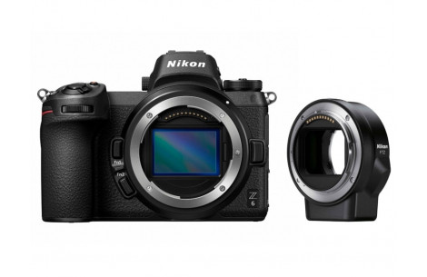 Nikon Z6 Gehäuse + FTZ Adapter