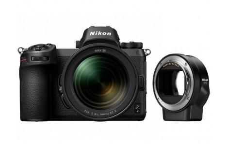 Nikon Z7 Kit + 24-70mm F4,0 S + FTZ Objektivadapter - 400 EUR Sofortrabatt bereits abgezogen