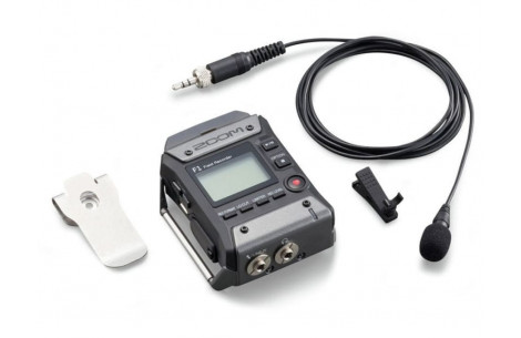 Zoom F1-LP Field Audio Recorder, Lavalier Mikrofon