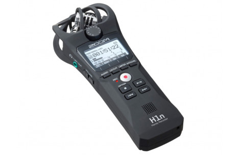 Zoom H1n Audio Recorder matt grau