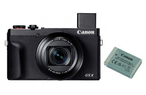 Canon PowerShot G5X MK II Battery Kit (inkl. Original Zweitakku)