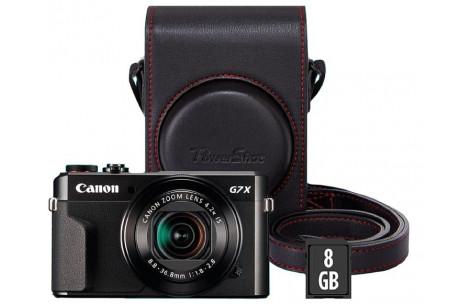 Canon PowerShot G7X Mark II Premium Kit inkl. Tasche und SD 16GB