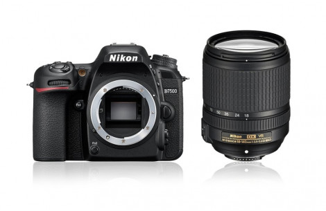 Nikon D7500 Kit + AF-S DX 18-140mm F3,5-5,6G ED VR