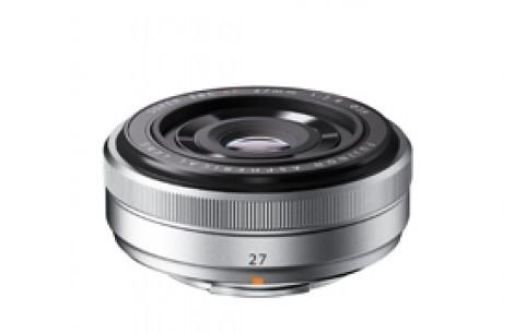 Fujifilm Fujinon XF 27mm F2,8 silber PH
