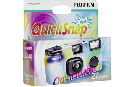 Fuji Quick Snap Einwegkamera mit Blitz - 400 ISO / 27 Aufnahmen