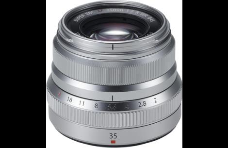 Fujifilm Fujinon XF 35mm F2 R WR silber