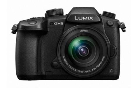 Panasonic Lumix DC-GH5 + 12-60mm F3,5-5,6 OIS schwarz