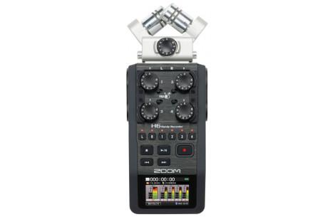 Zoom H6 portabler Video/Audiorecorder