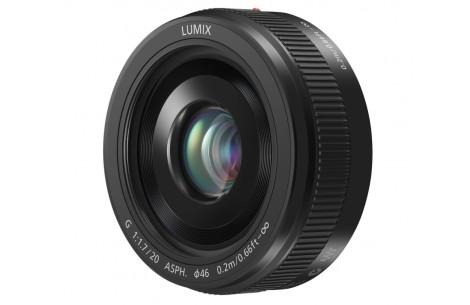 Panasonic Lumix DMC-G 20mm F1,7 II Asph. Pancake schwarz