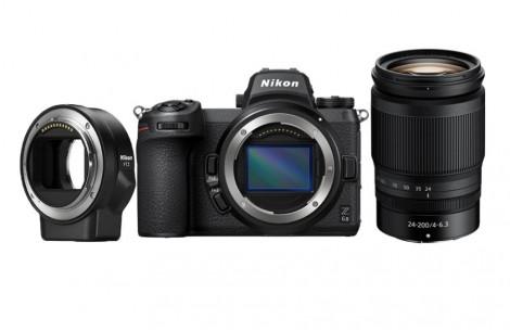 Nikon Z 6II KIT + 24-200 mm 1:4.0-6.3 VR + FTZ Adapter | - 200€ Trade-In sichern!