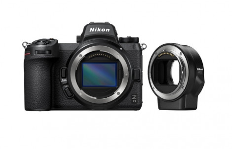 Nikon Z7 II Gehäuse + FTZ Objektivadapter