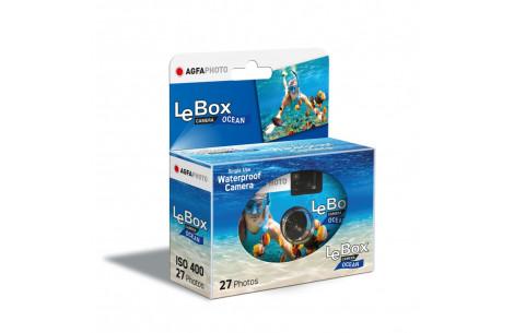AgfaPhoto LeBox Ocean Einwegkamera Unterwasser - ISO 400 / 27 Aufnahmen