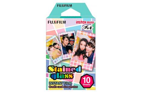 Fujifilm Instax Film Mini Stained Glass 10 Aufnahmen