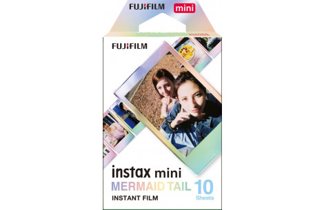 Fujifilm Instax Film Mini Mermaid Tail WW1 10 Aufnahmen