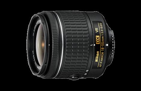 Nikon AF-P DX NIKKOR 18-55mm F3,5-5,6 G VR