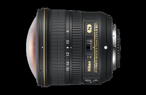 Nikon AF-S DX NIKKOR Fisheye 8-15mm F3,5-4,5 E ED