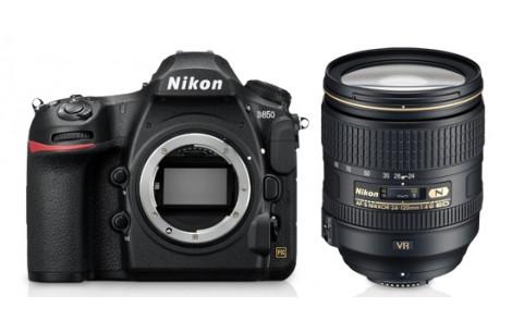 Nikon D850 Kit + AF-S 24-120mm F4,0 G ED VR