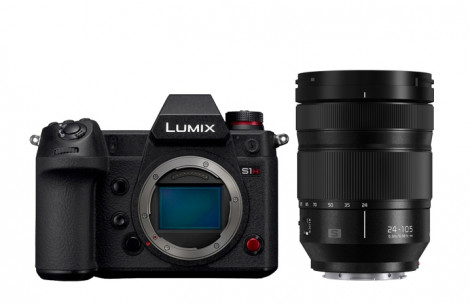Panasonic Lumix S1H Kit + S 24-105 F4 MACRO O.I.S.