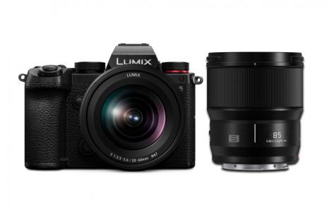 Panasonic Lumix S5 Kit inkl. Lumix S 20-60mm F3,5 -5,6 + S 85mm/1,8