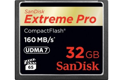 SanDisk CF-Card Extreme Pro 32GB 160MB/s CompactFlash