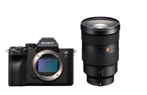 Sony Alpha ILCE 7R IV + SEL FE 24-70/2.8 GM | Gratis Batteriegriff
