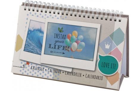 Fujifilm Instax wide Calendar (Dauerkalender für 13 Bilder)