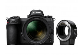 Nikon Z7 Kit + 24-70mm F4,0 S + FTZ Objektivadapter + gratis 64GB XQ