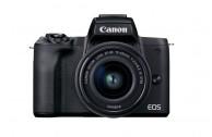 Canon EOS M50 Mark II Gehäuse - Schwarz + EF-M 15-45mm f3.5-6.3 IS STM Kit