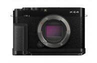 Fujifilm X-E4 Gehäuse Kit mit Griff MHG-XE4 und Daumenauflage TR-XE4 schwarz