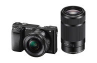 Sony Alpha ILCE-6000 Doppelzoom Kit schwarz + 16-50mm F3,5-5,6 OSS &  55-210mm F4,5-5,6 OSS