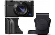 Sony Cybershot DSC-RX100 VA incl. Tasche LCS-RXG und Griff AG-R2