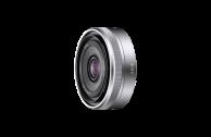 Sony SEL 16mm F2,8 silber