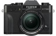 FUJIFILM X-T30 + XF18-55mm F2.8-4 R LM OIS schwarz