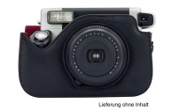 Fujifilm Instax Wide 300 Case schwarz, PU-Leder