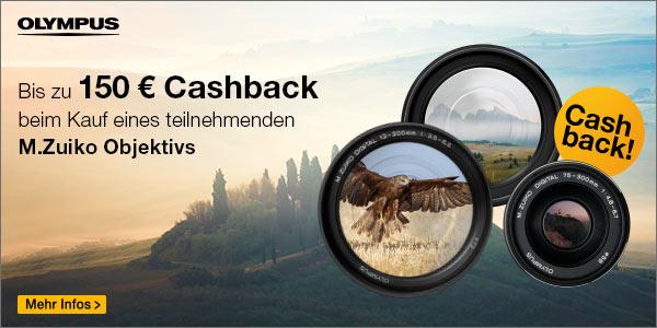 Foto Meyer Berlin Cashback und Sparaktionen:  OLYMPUS LENS CASHBACK