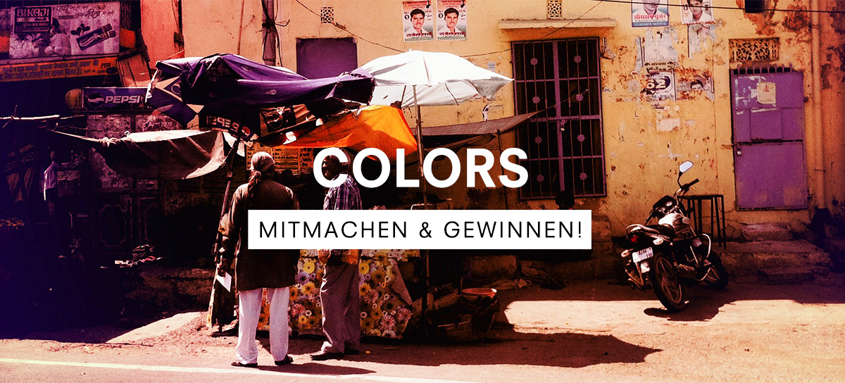 "UNSER FOTOWETTBEWERB ""COLORS"""