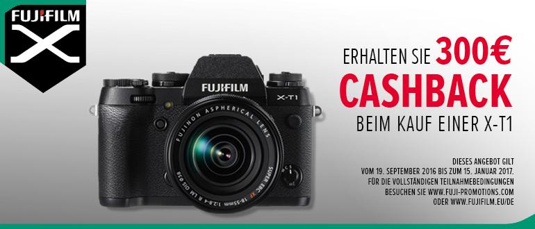 Foto Meyer Berlin Cashback und Sparaktionen:  FUJIFILM X-T1 CASHBACK
