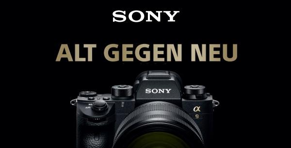Foto Meyer Berlin Cashback und Sparaktionen:  SONY ALT GEGEN NEU