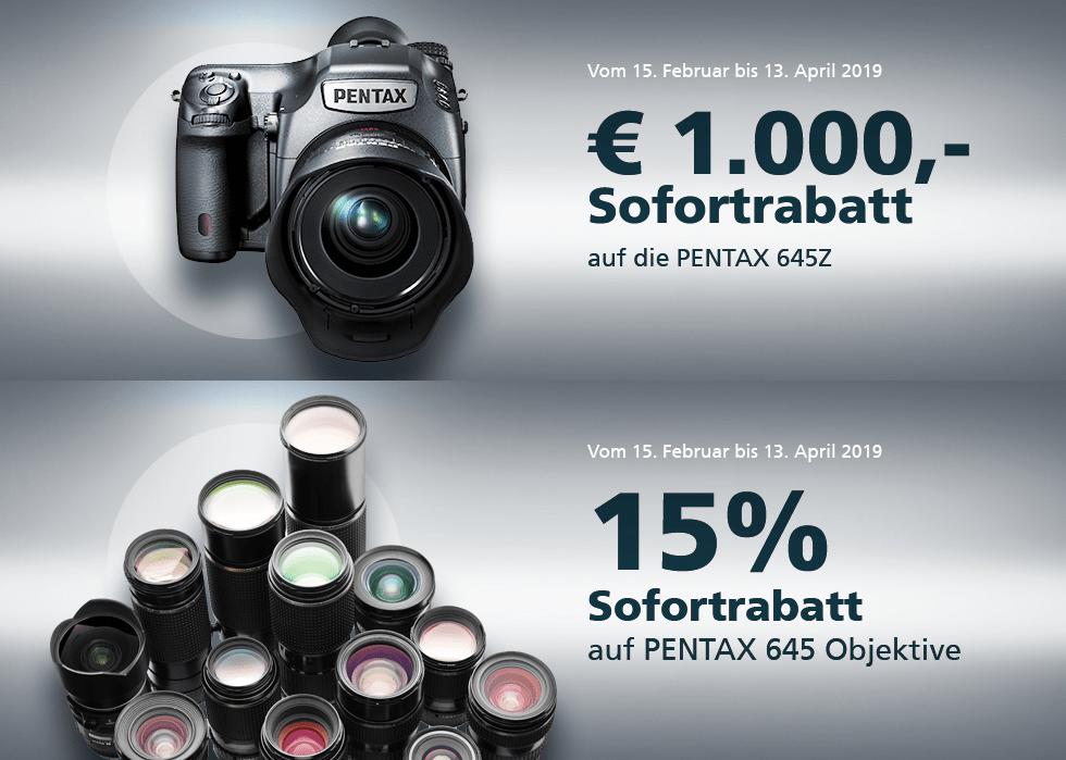 Foto Meyer Berlin Cashback und Sparaktionen:  PENTAX SOFORTRABATT