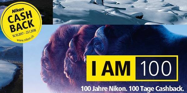 Foto Meyer Berlin Cashback und Sparaktionen:  100 JAHRE NIKON - CASHBACK