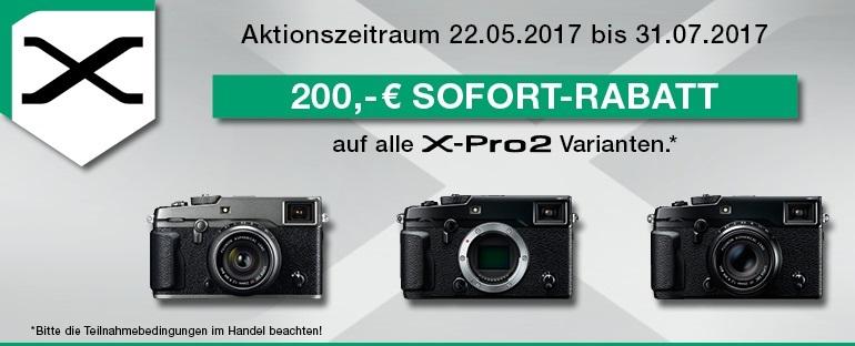 Foto Meyer Berlin Cashback und Sparaktionen:  FUJIFILM X-PRO2 SOFORT-CASHBACK