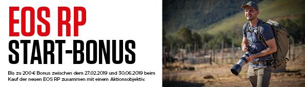 Foto Meyer Berlin Cashback und Sparaktionen:  CANON EOS RP START-BONUS