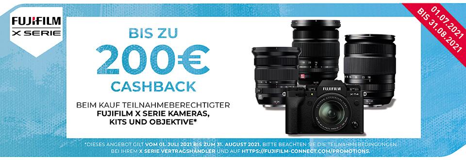 Foto Meyer Berlin Cashback und Sparaktionen:  FUJIFILM SUMMER CASHBACK